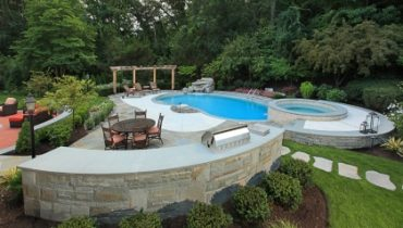 Hardscape Design Around Pool