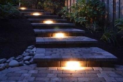 Kichler Lights with Steps